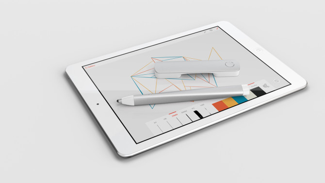 Adobe's new hardware: Ink and Slide.
