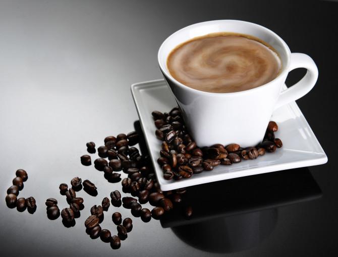 Coffee gradient reflection