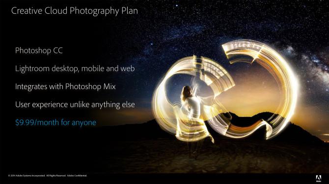 Adobe's New Photographer's Plan
