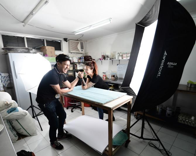 The A Team Philippine Based Photographers. Jay Jay De Guzman & Milk Mendoza