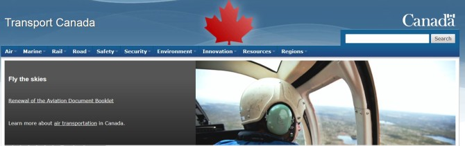 Transport Canada - Regulation of Aerial Drone Photography in Canada