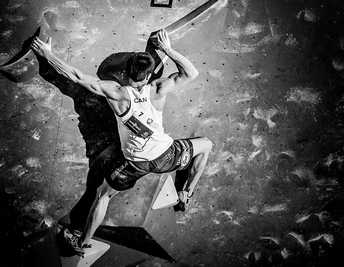 sean mccoll; bouldering; bouldering competition; bouldering world cup; champion; championship; climbing; competative bouldering; ifsc; ifsc climbing; indoor climbing; rock climbing; rock climbing competition; rock climbing gym; jp danko; toronto; toronto commercial photographer