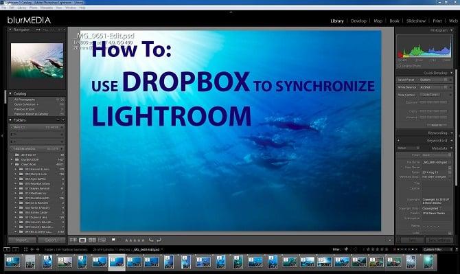 dropbox lightroom catalog sync presets how to synchronize lightroom with dropbox, JP Danko, Toronto commercial photographer, blurmedia