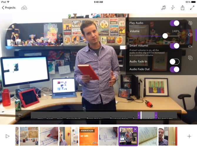 Premiere Pro gets a mobile edition with Premiere Clip.