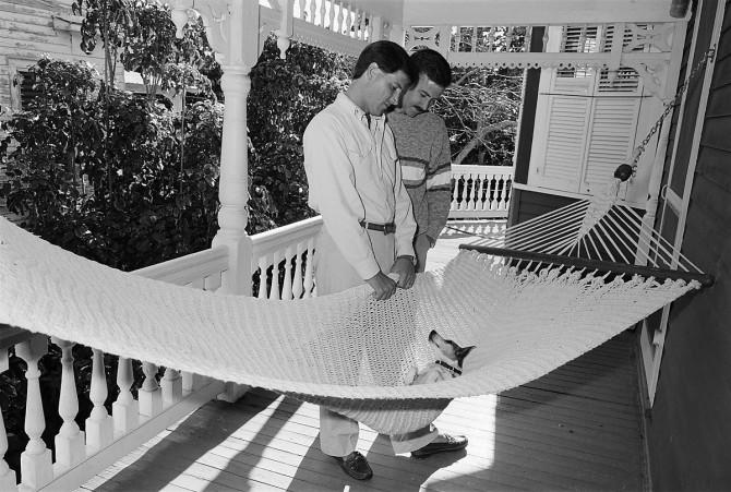 Trip & Alan, Key West, 1988; © Sage Sohier 2014