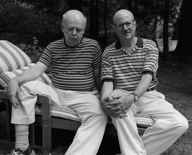 Lloyd & Joel, Stockbridge, MA, 2002; © Sage Sohier 2014