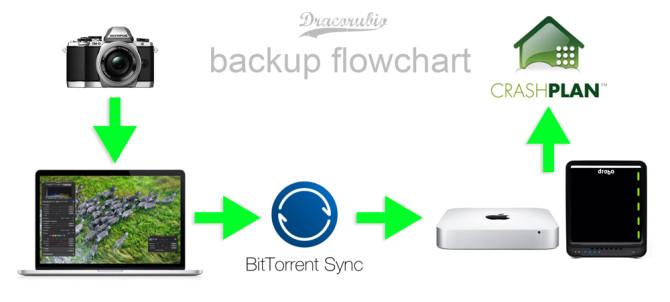 flowchart Backup Plan