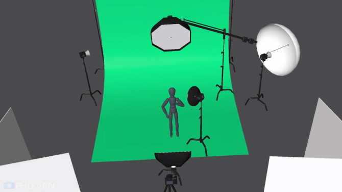 Take complicated lighting setups one element at a time.