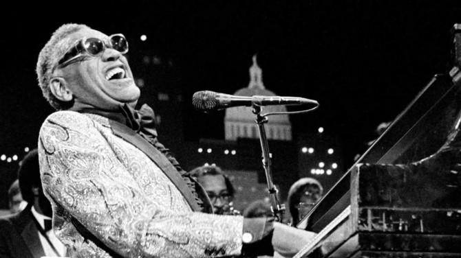 Ray Charles; Photo by Scott Newton