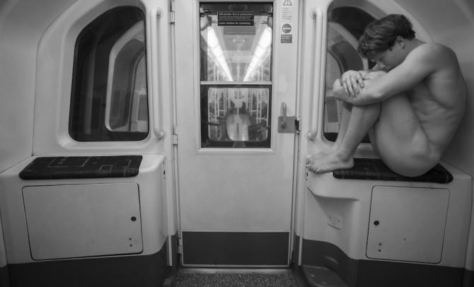 'Birthday Suit Commute' Image Credit - Jason Paul