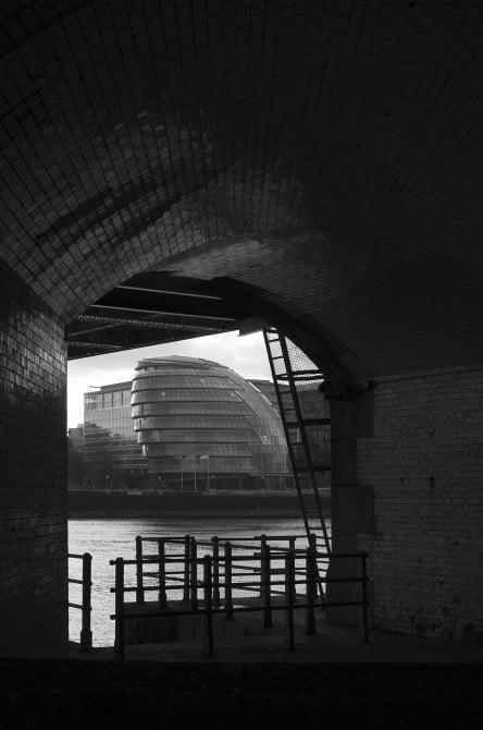 City Hall, London from Tower Bridge