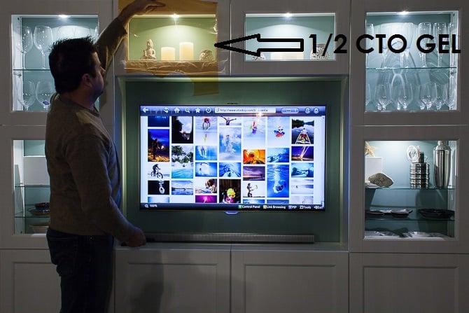 Ikea Hack Besta TV Wall Unit Undercabinet Accent Lighting Warm LED 1
