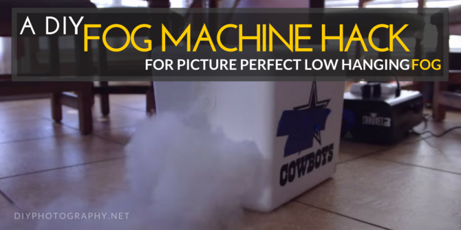 Use This Quick Fog Machine Hack For Perfect Low Hanging Fog To Use On Your Photo Set