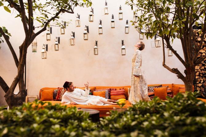 45. Morrocco - Marrakech Roof top Wedding. www.bohemianweddings.co.uk