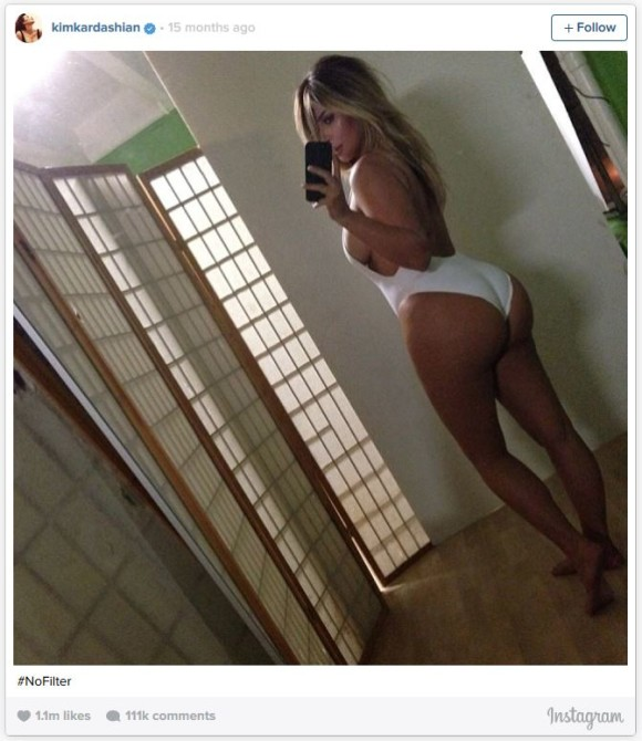 Kim Kardashian doesn't need a stick for a belfie. You do.