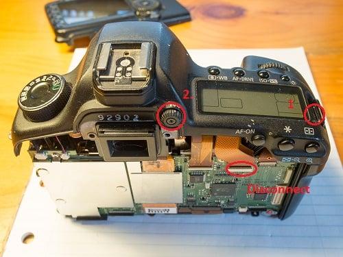 Canon 5D Mark II Repair