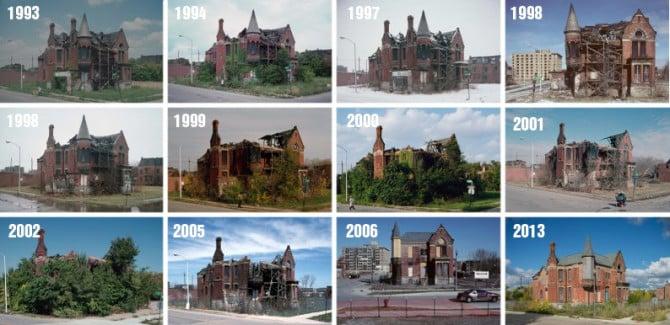 Ransom Gillis Mansion; Detroit, Michigan 1993-2013