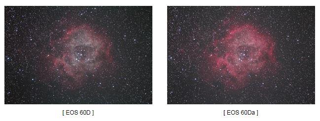 60D vs 60Da Canon