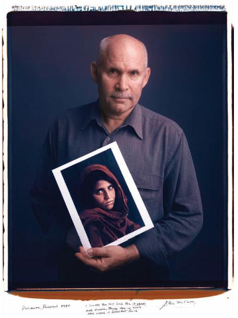 Steve McCurry  / Afghan Gril