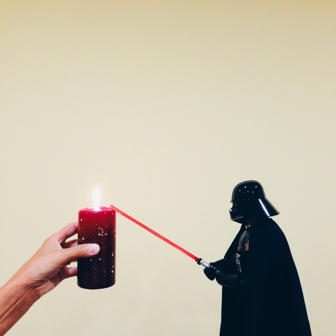 Come on Vader, light my fire