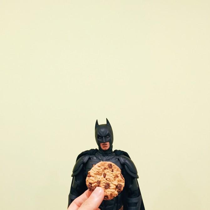 He's tough, but, c'mon, who can resist cookies?!? #temptedtoys