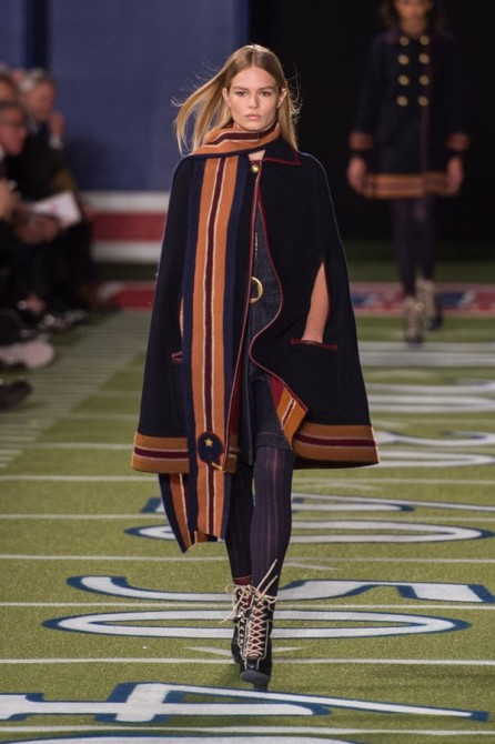 Anna Ewers Walking Runway for Tommy Hilfiger by Grant Friedman on 500px