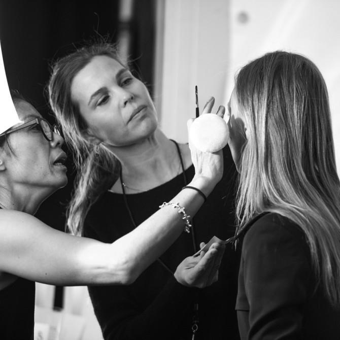 Makeup Artists Backstage by Grant Friedman on 500px
