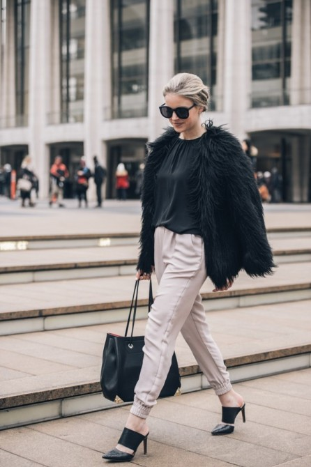 Kendall Johnson of Styled Snapshots During Fashion Week by Grant Friedman on 500px
