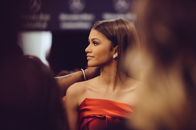 Zendaya Backstage Before Go Red for Women Show by Grant Friedman on 500px