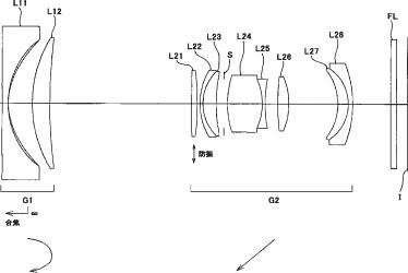 28-80mm f/3.5-5.6 VR full frame mirrorless lens patent