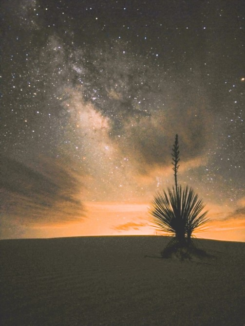 White Sands National Monument, NM, OnePlus One, 30s, f/2, ISO 3200, stack of 4 jpegs