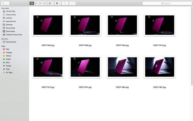 Macbook Chosen shots