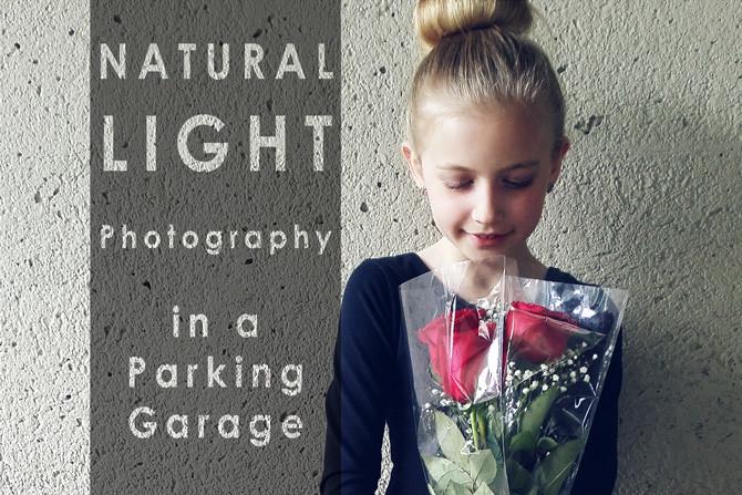 natural light photography in a parking garage JPDanko blurmedia