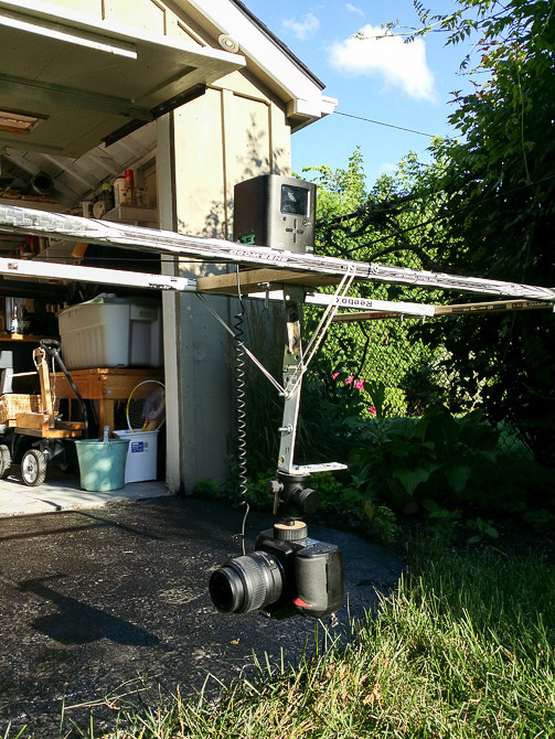 syrp genie, diy, cable cam, hyperlapse cart