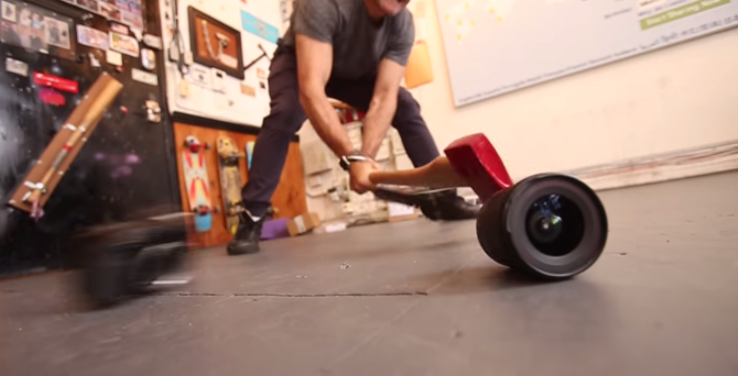 Casey Neistat Smashes Canon 70D With An Ax, Fails Anger Management