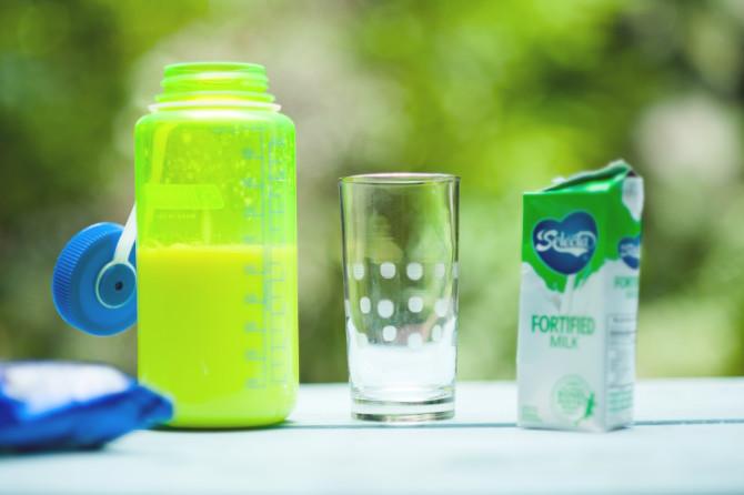 milk dillute