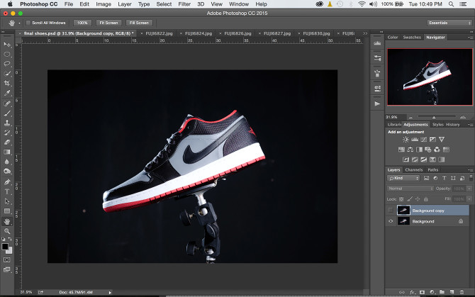Diyphotography Shoes Photoshop (4)