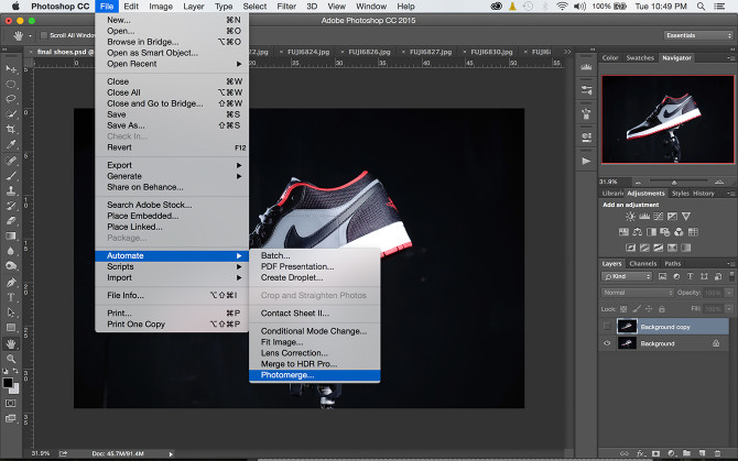 Diyphotography Shoes Photoshop (5)
