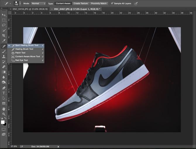 Shoe Product Photoshop (2)