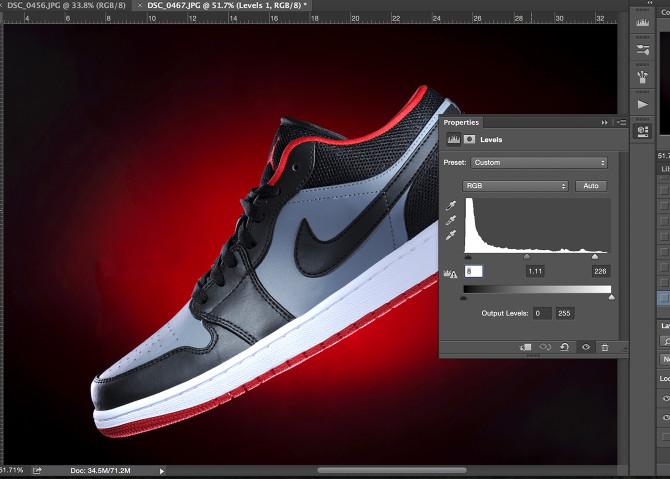 Shoe Product Photoshop (5)