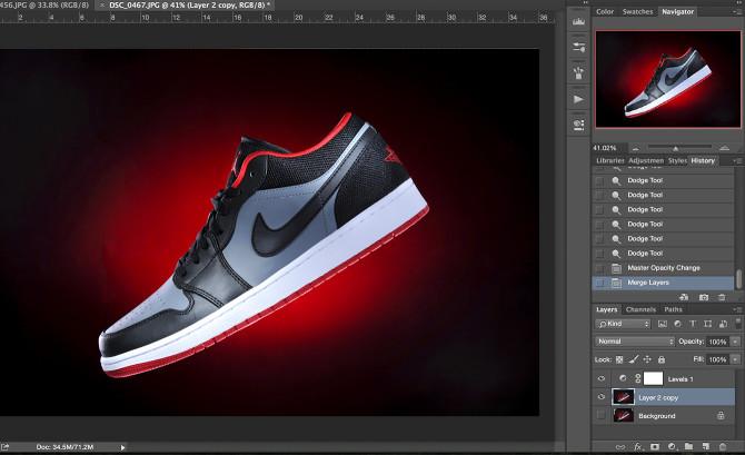 Shoe Product Photoshop (6)