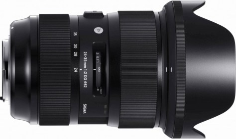 This is the first zoom lens on the market with an f/2 aperture- and it covers full frame sensors!