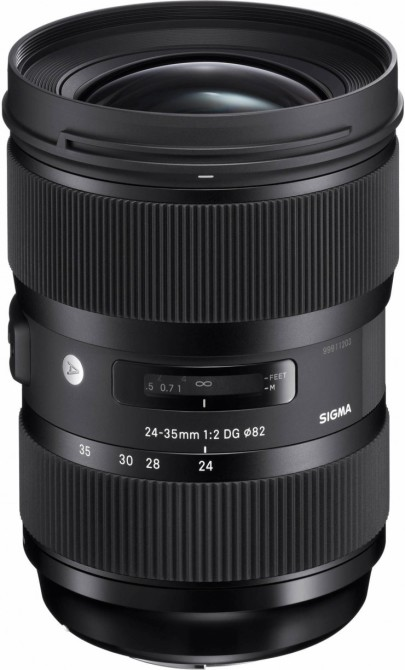 This isn't even the first fast-aperture zoom that Sigma has released. In 2013, Sigma released the first zoom lens with an f/1.8 aperture, the 18-35mm DC HSM.