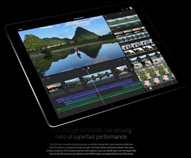Apple iPad Pro versus Microsoft Surface Pro 3 iOS 9 A9X processor