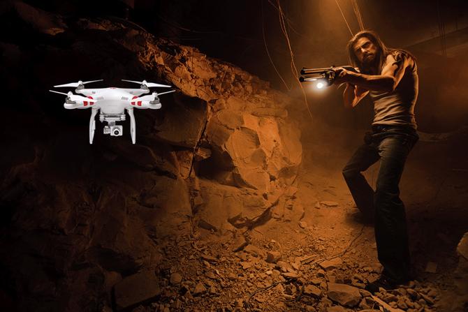 Shotgun-Drone