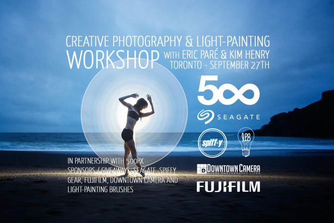 eric pare light painting workshop review