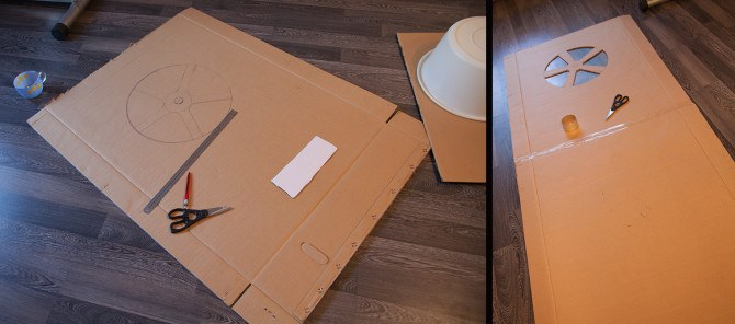 Building a wall fan