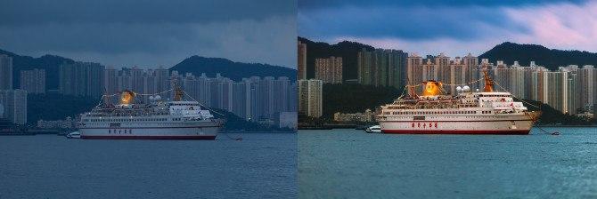 single exposure edit Nik Color Efex Pro used for post-production color enhancements