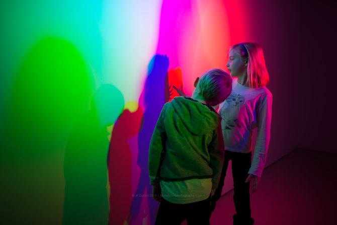RGB Additive Color Model Photography Gels Boy and Girl
