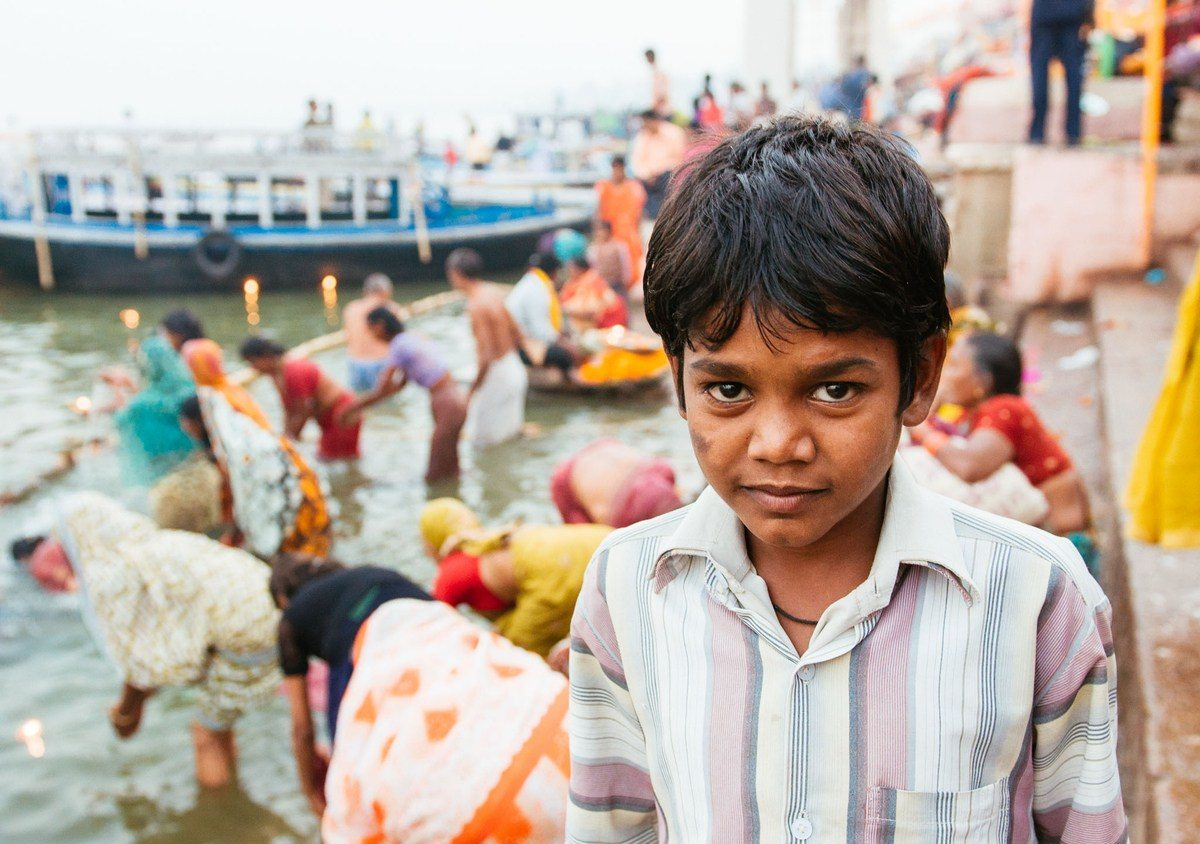 You can try different looks if you've got a patient subject. I took a few shots of this kid but in the end, I chose the one that showed the environment to tell a story about the boy and the city he was in. (Varanasi, India. 2011.)